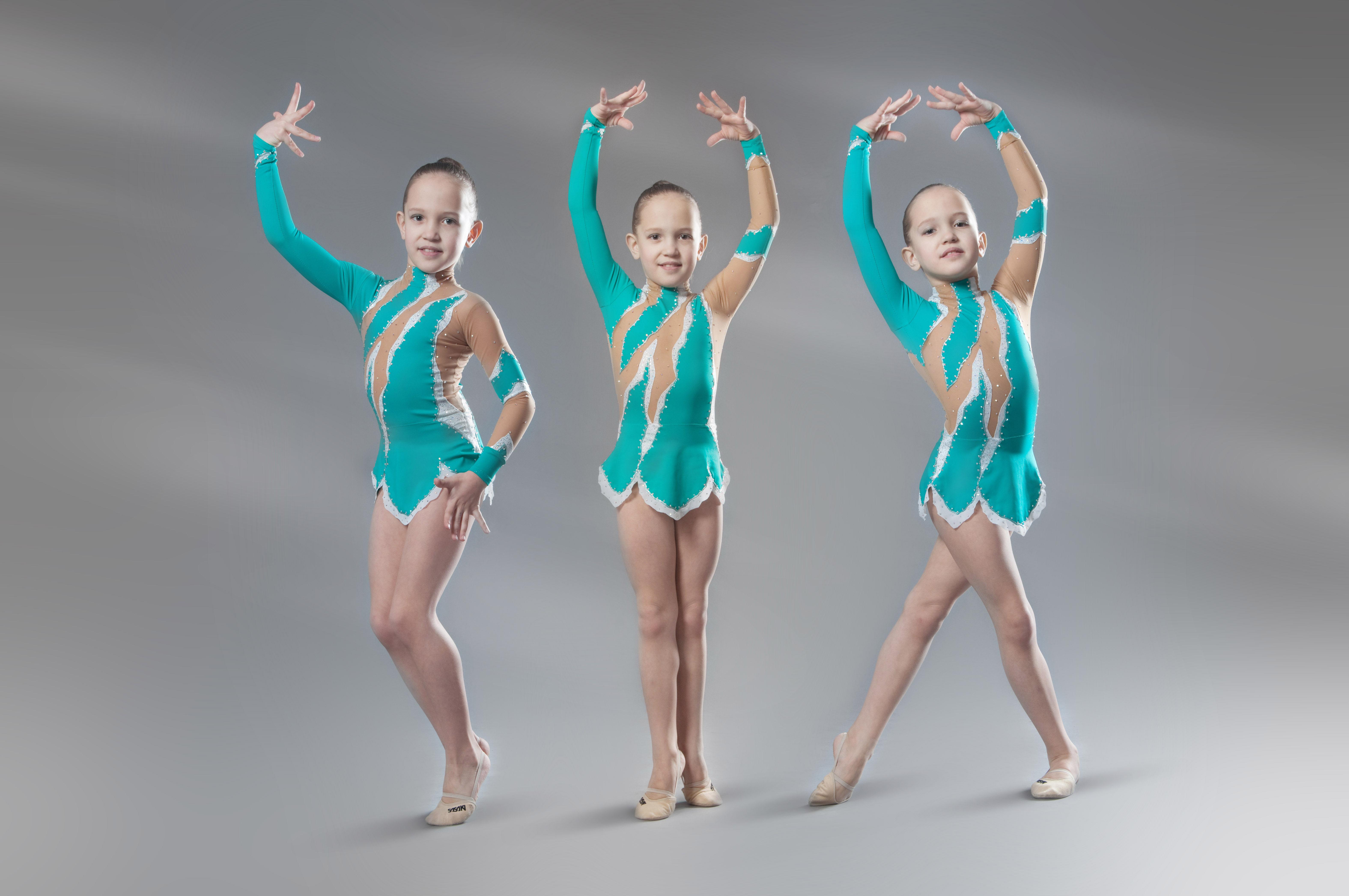 Фотосессия костюмов гимнасток 3 фотография
